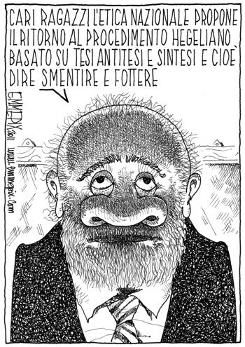 così era con Berlusconi, adesso subito la sintesi